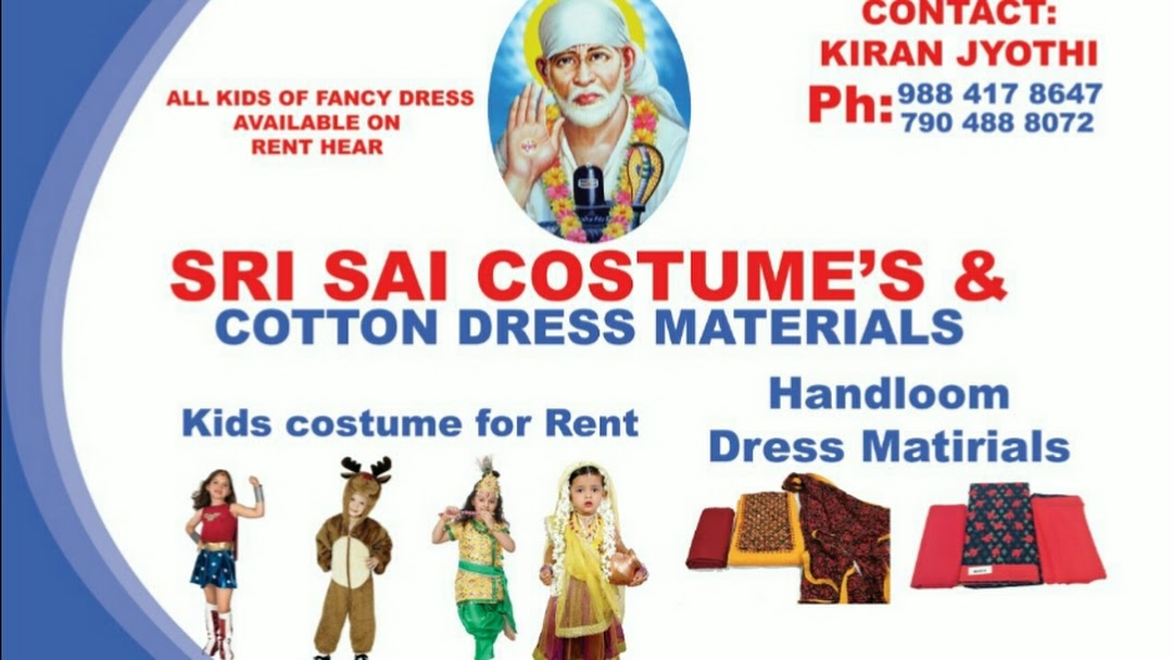 Sri Sai Kids fancy dress and costumes - Costume Hire Service in Old