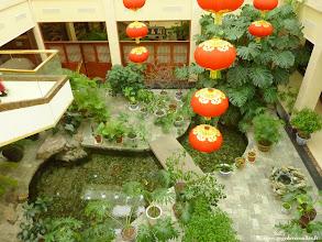 Photo: #011-Le hall de l'hôtel Yun Shan à Chengde