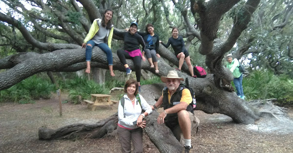 Cumberland Island 2018 | Outdoors Learning Adventures | Flor & Dr Jose Lepervanche | @ecaptains