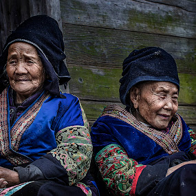 Miao old age by Flavian Savescu - People Portraits of Women (  )