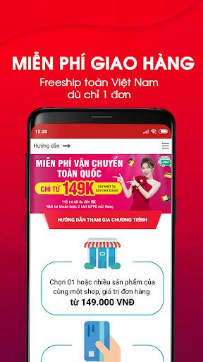 Sendo: Ứng dụng mua sắm #1 Shopping App screenshot
