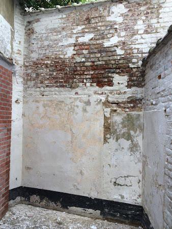 Schilderwerken Rotselaar - schilderwerken rotselaar, kaleien muur