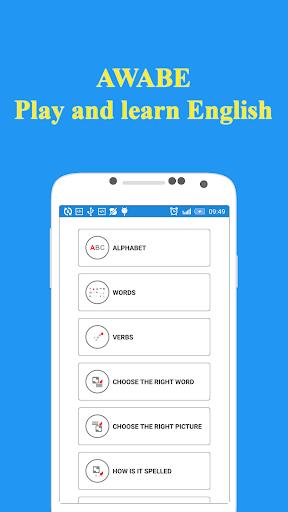 プレイ&英語を学びます - Awabe