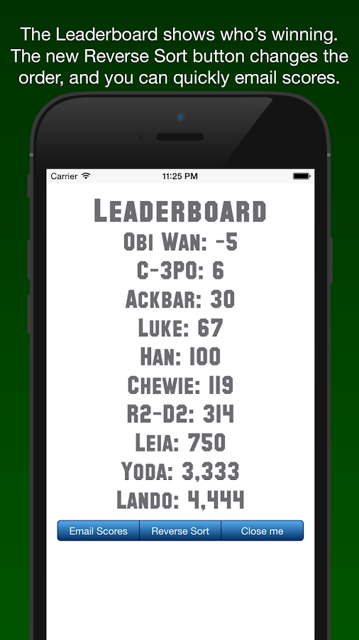 Score Keeper BACON- screenshot