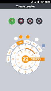 Clear Clock - náhled