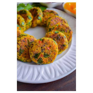Easy Curried Tuna and Quinoa Patties.