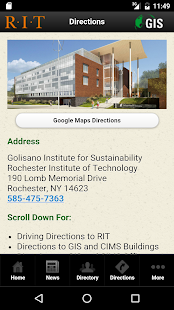 RIT GIS Mobile- screenshot thumbnail