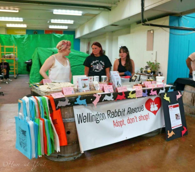 Wellington Rabbit Rescue booth