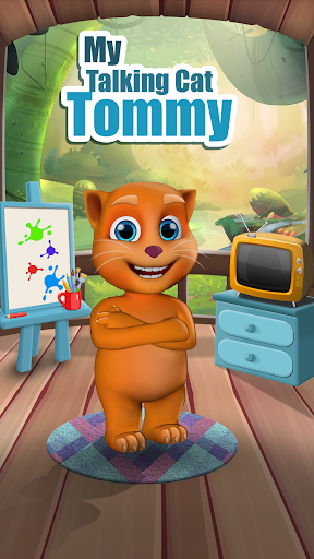 My Talking Cat Tommy - Virtual Pet apkpoly screenshots 8