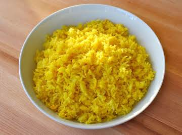 Rice Cooker Saffron Rice
