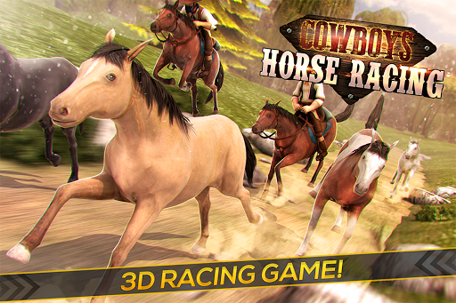 Cowboys Horse Racing Field
