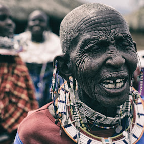 maasai by André Figueiredo - People Portraits of Women ( tribal, portarit, people, maasai, portrait,  )
