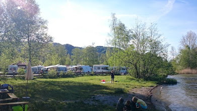 Photo: a small lovely camping place