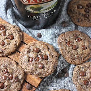 Bailey's Irish Cream Chocolate Chip Cookies