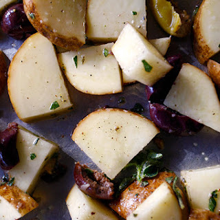 Olive & Herb Roasted Potatoes