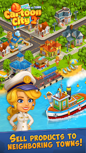 Cartoon City 2: Farm to Town.Build Mod Apk (Unlimited Money) 4