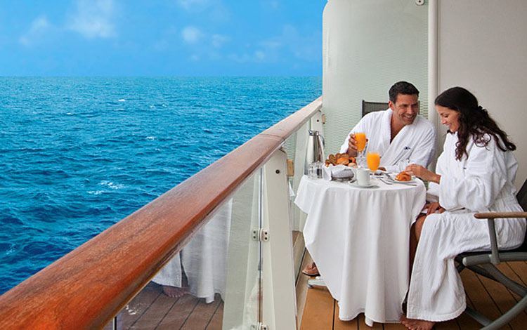 In-suite breakfast for two is included in Celebrity's True Love Knot Renewal.