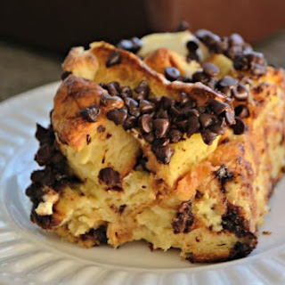 Chocolate Croissant Baked French Toast Recipe