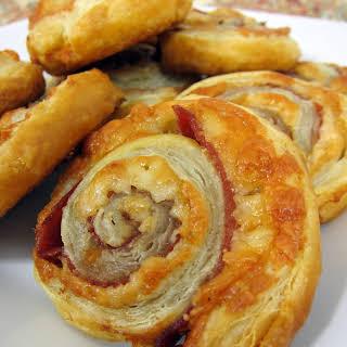 Serrano Ham & Manchego Cheese Pinwheels.