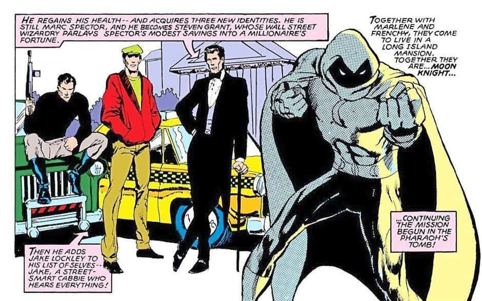 Image result for moon knight personalities
