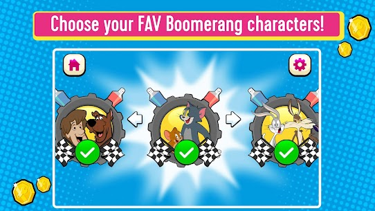 Boomerang Make and Race 2 Mod Apk (Unlimited Money) 4