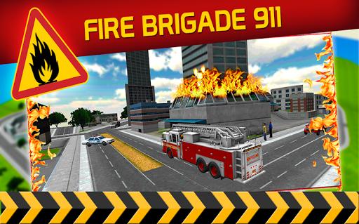 市の消防士の英雄