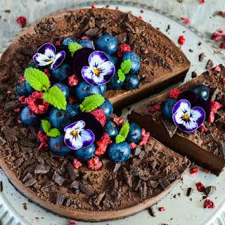 Chocolate Cheesecake.