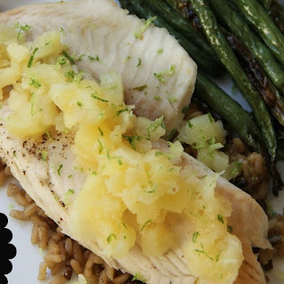 Pineapple & Lime Tilapia.