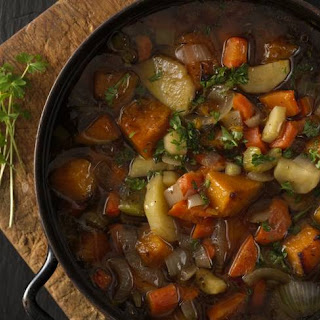 Roasted Winter Vegetable Soup.