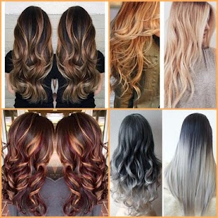 Hair Coloring Trend Ideas - Android Apps on Google Play
