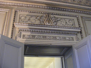 Photo: The Palace is entered at the small Salon d'Argent, which takes its name from the number of decorative silver elements present (a result of the lilac and silver color scheme designed for Napoleon I's sister, Caroline Murat).. This tiny room is historically significant, being the place where Napoleon I signed his act of abdication after his 1815 defeat at Waterloo, and where Napoleon III organized his 1851 coup d'état.