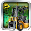Airport Forklift Driving Heavy Machinery Sim 3D icon