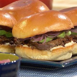 BBQ Brisket Sandwiches.