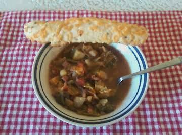 Rocky's Minestrone soup