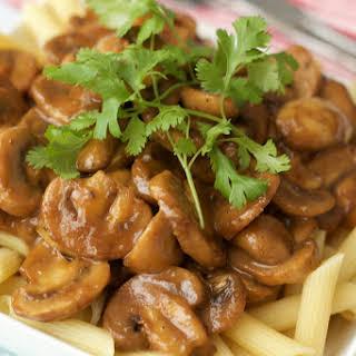 Tahini Mushroom Penne.