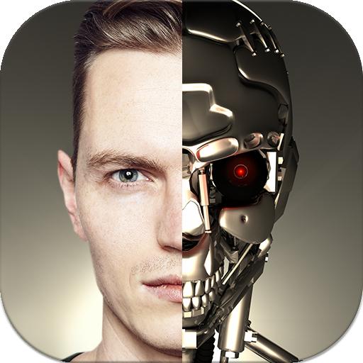 Cyborg Camera Icon