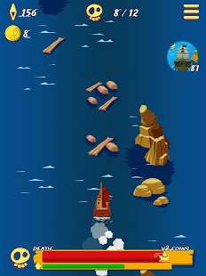Pirate Ship Endless Sailing- screenshot thumbnail