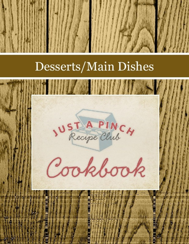 Desserts/Main Dishes