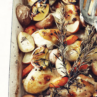 Lemon Roast Chicken and Vegetables