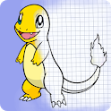 How to draw cartoon icon