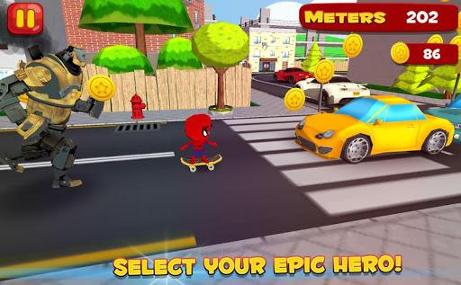 Skater Boy Epic Heroes 1.4 screenshots 5