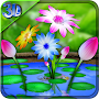 3D Flowers Touch Wallpaper APK icon