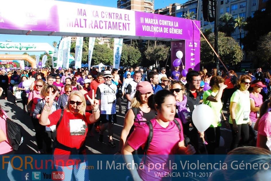 Fotos II Marcha contra la violencia de género Valencia 2017