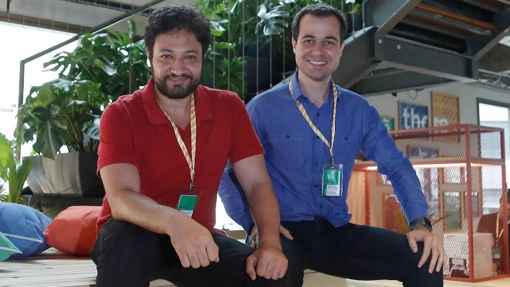 Amir e Marcos, fundadores da Foozi