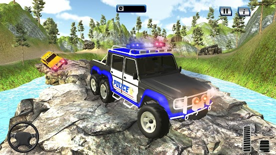 Offroad 6x6 Police Truck Simulator - Police Truck - náhled