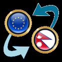 Euro x Nepalese Rupee icon