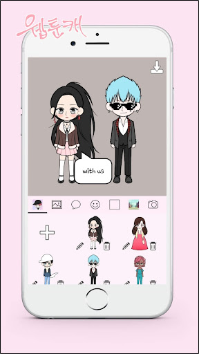 Download My Webtoon Character - K-pop IDOL avatar maker MOD