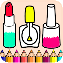 Beauty Toys Coloring Pages For Kids icon