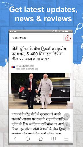 Omigo - Latest Video Status & News, Indian Browser 1.7.3 screenshots 4