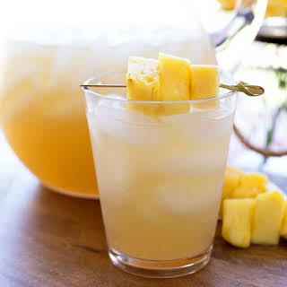 Pineapple Rum Punch.